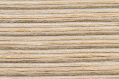 Cloes up wool brown fabric stripe Royalty Free Stock Image