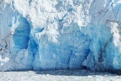 Cloeup van Gletsjer Royalty-vrije Stock Foto's