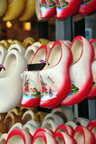 clog ολλανδικά παπούτσια ξύλ&io Στοκ Εικόνες