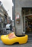 Clog, деревянное shou в Амстердаме Стоковые Изображения
