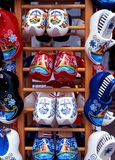 Cloggs for sale, Volendam. Royalty Free Stock Photo