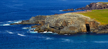 clogher κεφάλι grotto Στοκ Εικόνα