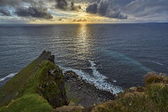 Clogher head and grotto and Sybil head Royalty Free Stock Photos