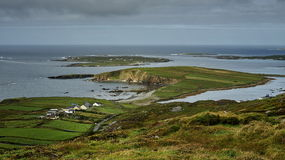 Clogher head and grotto and Sybil head Stock Image