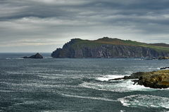 Clogher head and grotto and Sybil head Royalty Free Stock Images