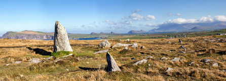 Clogher head panoramic Royalty Free Stock Photo