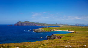 Clogher head, Sybil head and grotto Stock Photo
