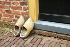 clogs Κάτω Χώρες παραδοσιακέ&sigmaf στοκ φωτογραφίες