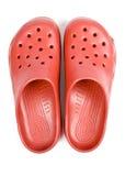 clogs πλαστικό κόκκινο Στοκ φωτογραφίες με δικαίωμα ελεύθερης χρήσης