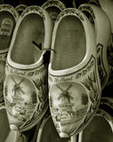 Clogs. Dutch souvenir - traditional clogs sold in Delft - Netherlands Stock Photo