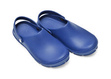 Crocs dark blue Royalty Free Stock Photos