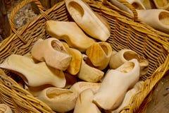 Clogs -  dutch wooden shoes Stock Photo