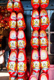 Clogs in souvenir shop in Keukenhof garden, Netherlands Royalty Free Stock Images