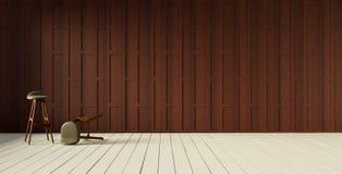 Cloison de séparation en bois foudroyée thaïlandaise Images stock