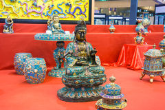 Cloisonné Будды стоковые фотографии rf