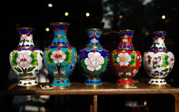 Cloisonne enamel Stock Photography
