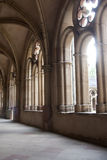 Cloister. Sunlit cloister of the Dom in Trier, Germany Stock Photos