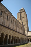 Cloister. Of the cathedral of cefal Royalty Free Stock Photography
