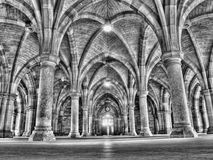 Cloister. Glasgow university cloister HDR processed Stock Photos