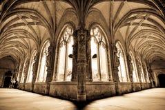 cloister Royaltyfri Bild