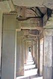 Cloister at Angkor Wat Royalty Free Stock Images