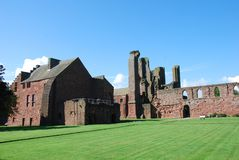 Cloister at Arbroath Abbey Royalty Free Stock Photo