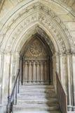 Cloister av abbeyen i Soissons Fotografering för Bildbyråer