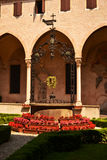 Cloister of Basilic of San Antonio of Padova Ital Royalty Free Stock Images