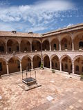 Cloister, Basilica of St Francis, Assisi, Italy Stock Photography