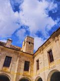 Cloister of Carme in Mahon on Minorca Royalty Free Stock Image