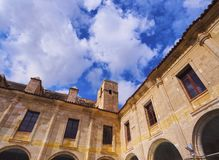 Cloister of Carme in Mahon on Minorca Stock Image