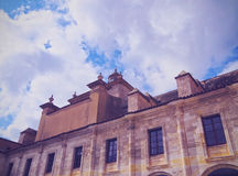 Cloister of Carme in Mahon on Minorca Royalty Free Stock Photography