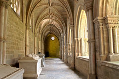 Cloister evora cathedral Royalty Free Stock Image