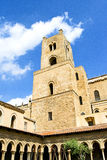 Cloister of the Cathedral of Monreale Royalty Free Stock Photography