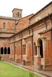 Cloister of the Cathedral of Parma. Photo made in a cloister of the cathedral of Parma. Parma is a city capital of the province in Emilia-Romagna. Former capital Stock Image