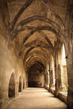 Cloister. Cathedral of saint Just. Narbonne. France Royalty Free Stock Photo