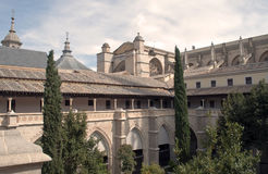 Cloister of the Cathedral of Toledo Royalty Free Stock Photos