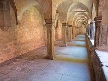 Cloister convent Royalty Free Stock Photos