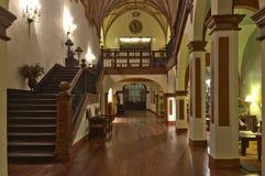 cloister de wewnętrzny monasterio piedra Obraz Royalty Free