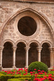 Cloister detail Royalty Free Stock Image