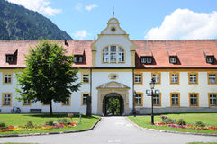 Cloister of Ettal Royalty Free Stock Photo