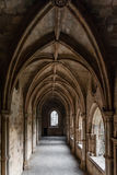 Cloister of the Evora Cathedral, the largest cathedral in Portugal. Royalty Free Stock Image