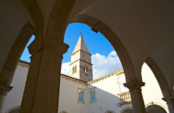 Cloister of the Friars Minor, Piran Royalty Free Stock Photography