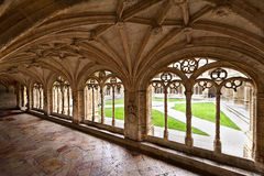 Cloister gallery Royalty Free Stock Photo