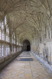 Cloister in Gloucester Cathedral Royalty Free Stock Photos