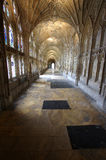 Cloister of Gloucester Cathedral England. A photo of a Cloister of Gloucester Cathedral England Royalty Free Stock Photos