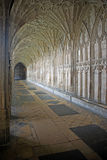 The Cloister in Gloucester Cathedral Stock Images