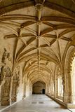Cloister Hieronymites Monastery, Lisbon (Portugal) Royalty Free Stock Images
