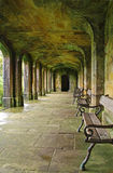 Cloister in Ilam Park, Dovedale. Cloister in the grounds of Ilam Park, Dovedale Stock Photo