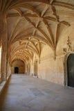 Cloister of Jeronimos Monastery Stock Photography
